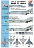 Декаль для самолета RF-4B of VMFP-3