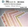 Материал для диорам, обои (7 видов), часть 1 DAN models 35241 основная фотография