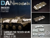 Мешки с песком для БТР-80, набор №2 от DAN models