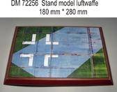 Подставка для моделей авиации. Тема: Люфтваффе, 2 МВ (280x180 мм)