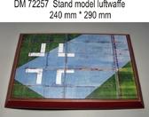 Подставка для моделей авиации. Тема: Люфтваффе, 2 МВ (290x240 мм)