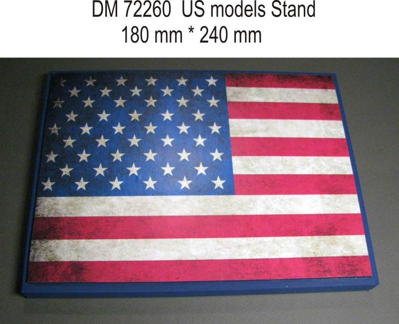 Подставка для моделей авиации. Тема: США (240x180 мм) DAN models 72260