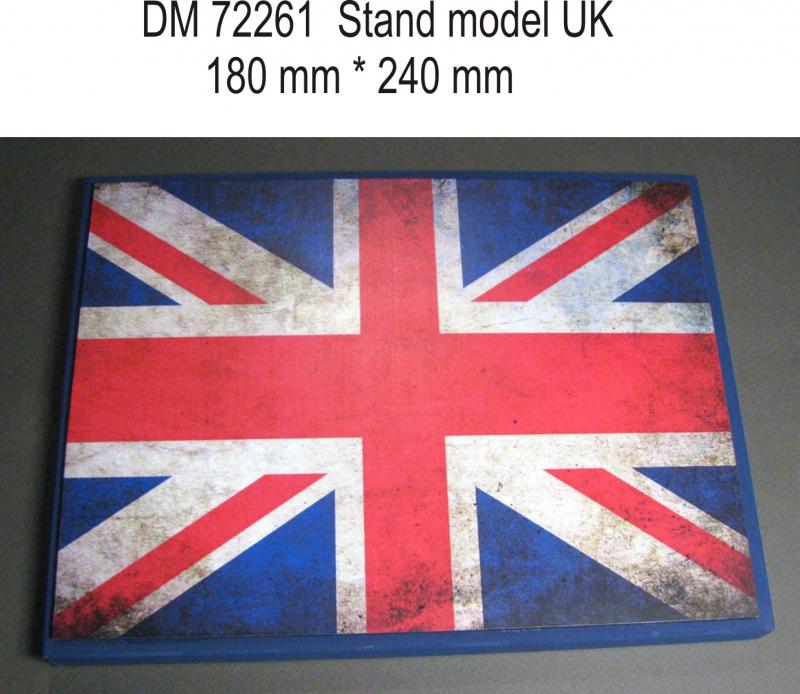 Подставка для моделей авиации. Тема: Великобритания (240x180 мм) DAN models 72261