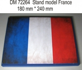 Подставка для моделей авиации. Тема: Франция (240x180 мм)