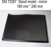 Подставка для моделей. Тема: Зеркало (240x180 мм) от DAN models