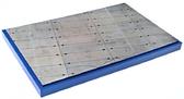 Подставка для моделей авиации. Тема: Стоянка самолета, старая бетонка (280x180 мм) от DAN models