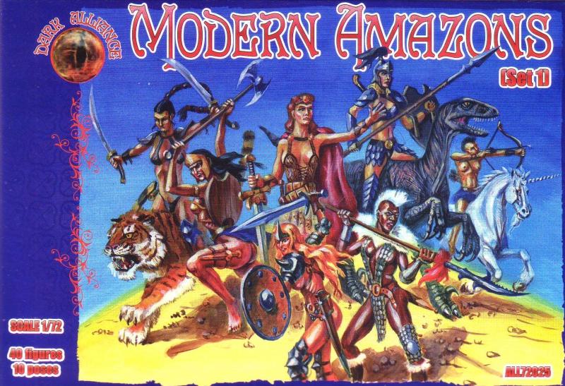 Современные амазонки, набор 1 Alliance 72025