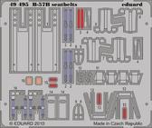 Фототравление 1/48 ремни безопасности для B-57B (Airfix)
