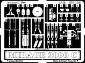 Фототравление 1/48 Mираж 2000C (рекомендовано для Revell)