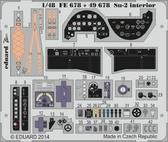Фототравление 1/48 Су-2 интерьер, рекомендовано Zvezda