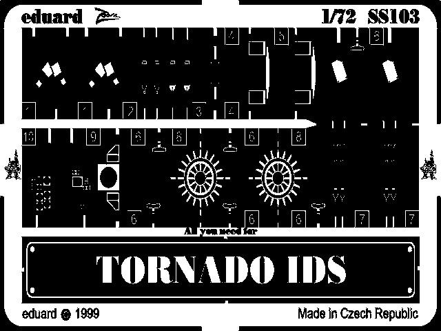 Фототравление 1/72 Tорнадо IDS (рекомендовано для Revell) Eduard 103