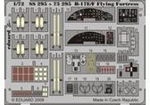 Фототравление 1/72 B-17E/F Летающая Крепость (цветная, рекомендовано для Academy)