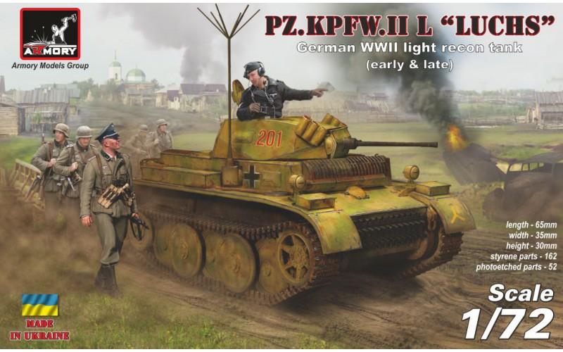 Немецкий легкий танк Pz.Kpfw.II Ausf.L ''Luchs'' Armory 72203