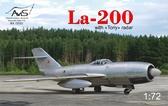 Истребитель Ла-200 с радаром ''Toriy''