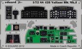 Фототравление 1/72 Вэлиент BK.MK.I (цветная, рекомендовано для Airfix)