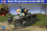 Советский легкий танк T-26 образца 1936/1937 годов