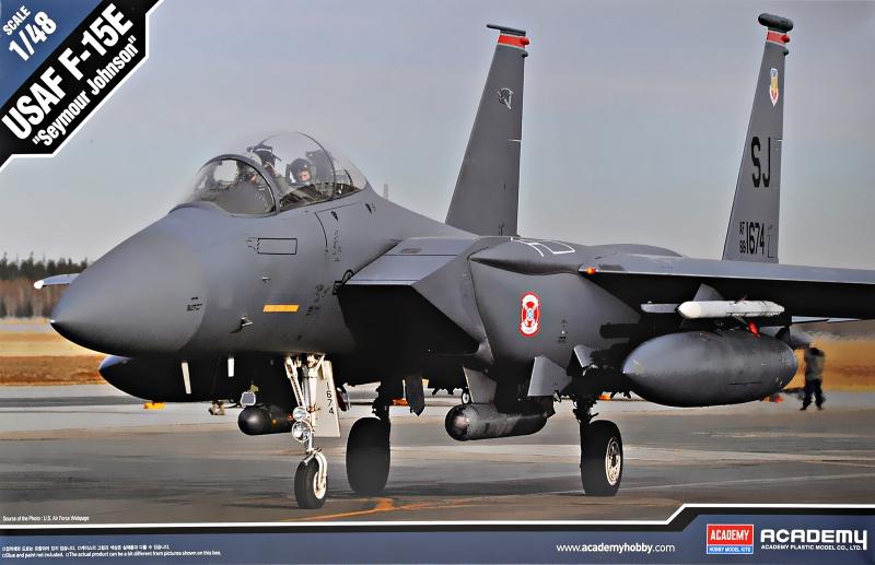 Истребитель-бомбардировщик F-15E ''Seymour Johnson'' Academy 12295