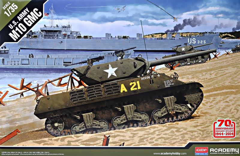 ПТ-САУ M10 70 Anniversary 1944 г.'' Academy 13288