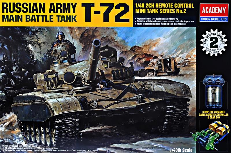 Танк MBT T-72 Academy 13308
