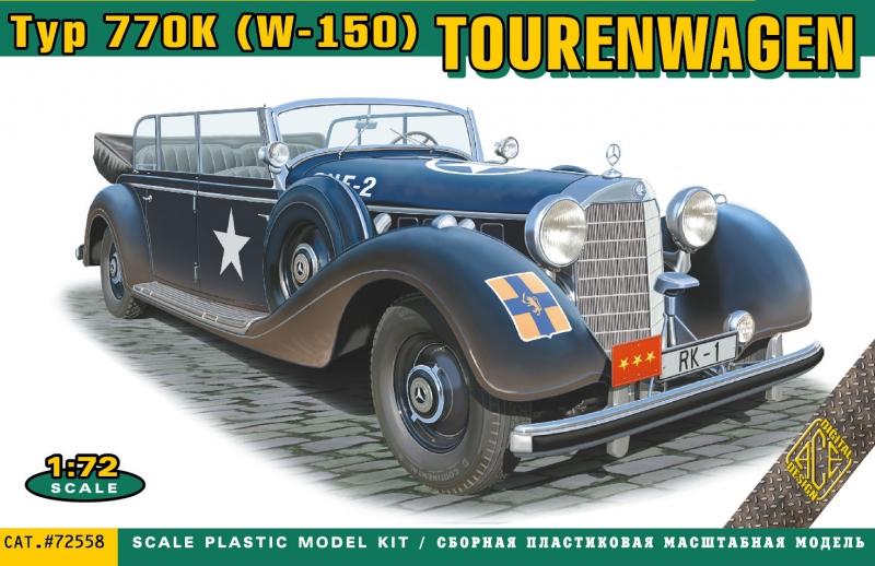 Автомобиль MB-770K (W-150) Ace 72558