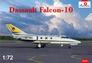Самолет Dassault Falcon-10 Amodel 72245 основная фотография