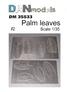 Фототравление: Листья пальмы №2 DAN models 35533 основная фотография