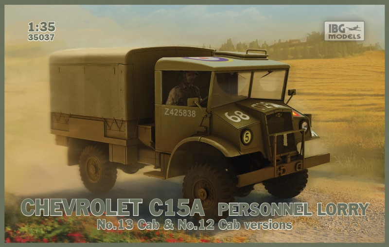 Военный грузовик Chevrolet C15A IBG Models 35037