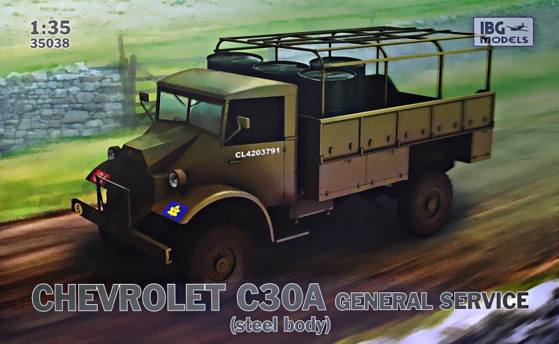 Военный грузовик Chevrolet C30A IBG Models 35038