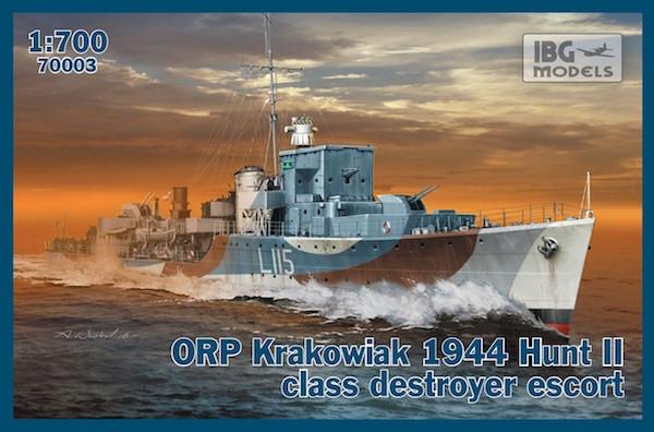 Сторожевой корабль класса эскорт ORP ''Krakowiak'', 1944 IBG Models 70003