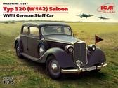 Немецкий штабной автомобиль Typ 320 (W142) седан, II МВ