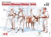 Финские пехотинцы (зима, 1940 г.)