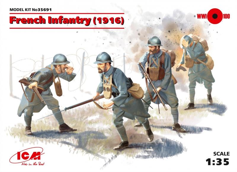 Пехота Франции 1916 г. ICM 35691