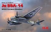 Немецкий бомбардировщик Ju 88A-14, 2 МВ