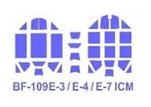 Маска для модели самолетов Bf-109 E-3 / E-4/E-7 (ICM)