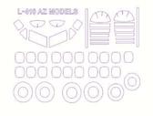 Маска для модели самолета L-410 (AZ Models)