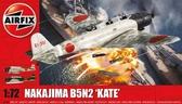 Палубный торпедоносец Nakajima B5N2 ''Kate''