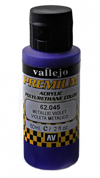Краска акрил-полиуретановая ''Premium Color'', металлический фиолетовый Vallejo 62045