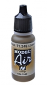 Краска акриловая ''Model Air'' глина бежевая