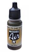 Краска акриловая ''Model Air'' желто-коричневый