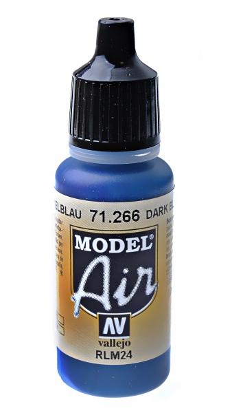 Краска акриловая ''Model Air'' темно-синий RLM 24 Vallejo 71266