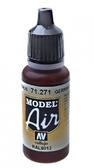 Краска акриловая ''Model Air'' немецкий красно-коричневый