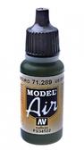 Краска акриловая ''Model Air'' американский темно-зеленый
