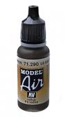 Краска акриловая ''Model Air'' американская коричневая земля