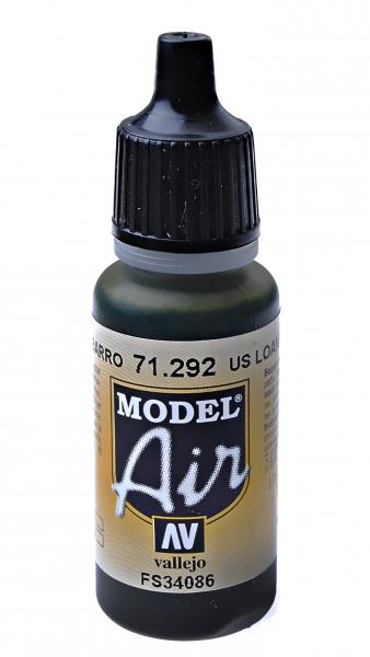 Краска акриловая ''Model Air'' американская глина Vallejo 71292