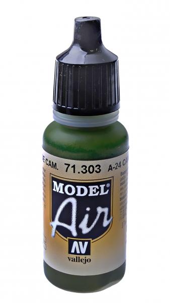 Краска акриловая ''Model Air'' А-24М Камуфляж зеленый Vallejo 71303