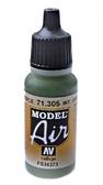 Краска акриловая ''Model Air'' интерьерный серо-зеленый
