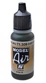 Краска акриловая ''Model Air'' темно-серый шифер
