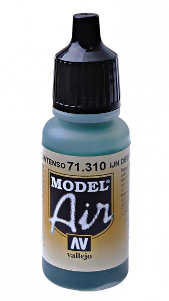 Краска акриловая ''Model Air'' IJN глубокий темно-зеленый Vallejo 71310