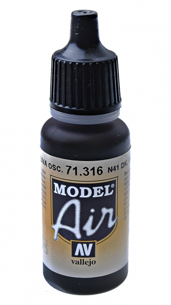 Краска акриловая ''Model Air'' N41 темно-оливковый Vallejo 71316