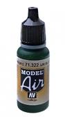 Краска акриловая ''Model Air'' IJN черно-зеленый